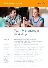 Team Management Workshop